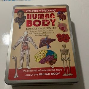 Human Body Educational Tin Set